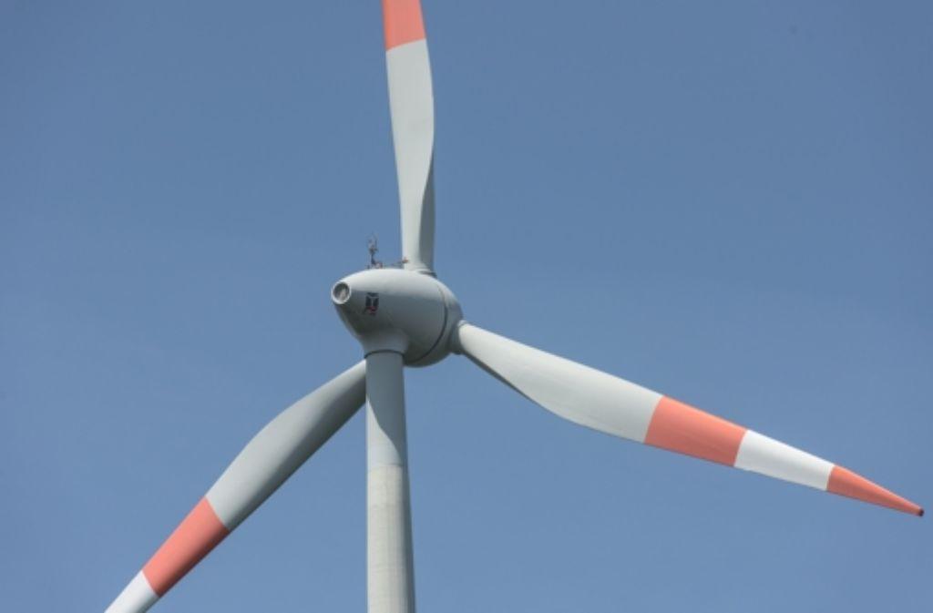 Im Kreis Ludwigsburg wird wohl höchstens noch ein neues Windrad entstehen. Foto: dpa