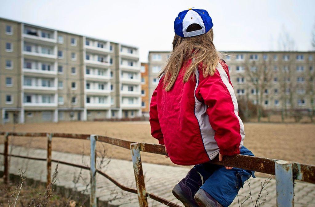 Auch Kinder sind in der Landeshauptstadt von Armut betroffen. Foto: dpa