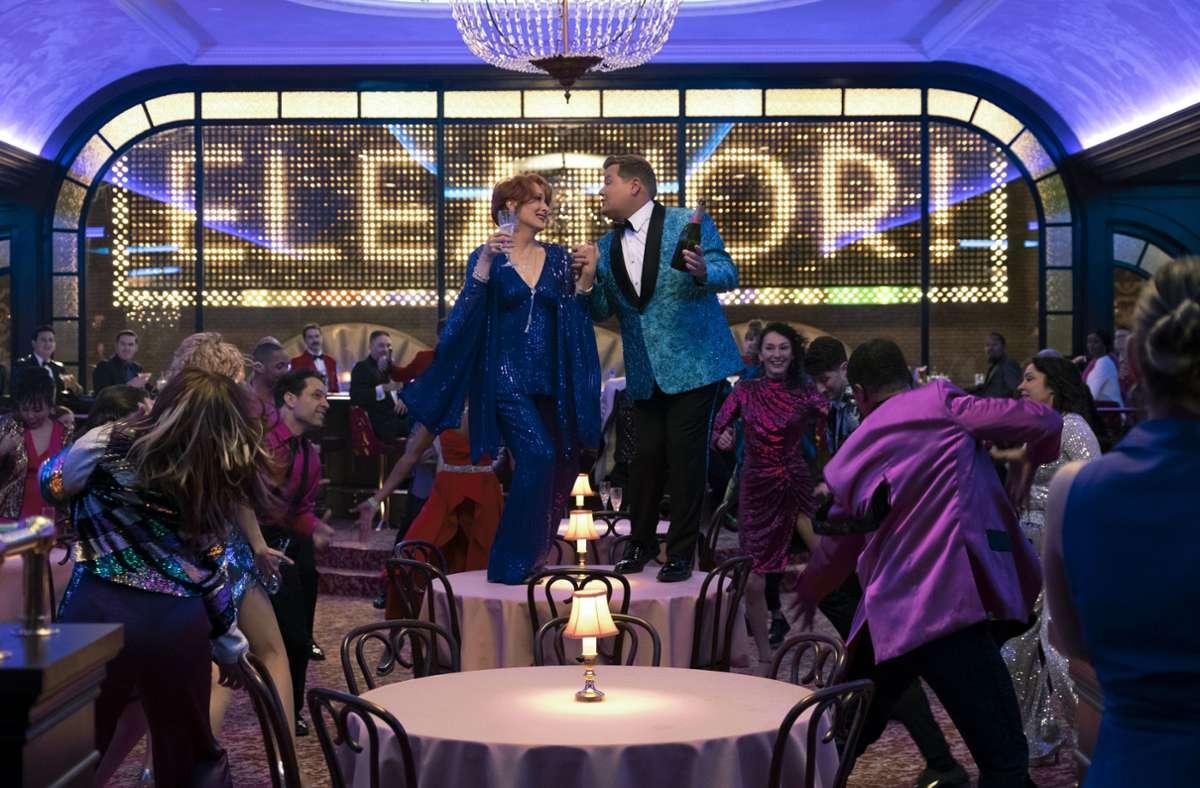 """The Prom"": Meryl Streep und James Corden Foto: Netflix/Melinda Sue Gordon"