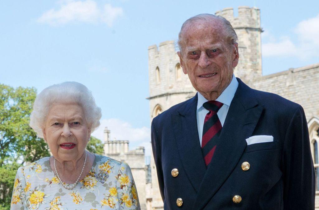 So kennt man ihn seit Jahrzehnten: Prinz Philip, der Ehemann von Queen Elizabeth II., wird 99. Foto: AFP/STEVE PARSONS