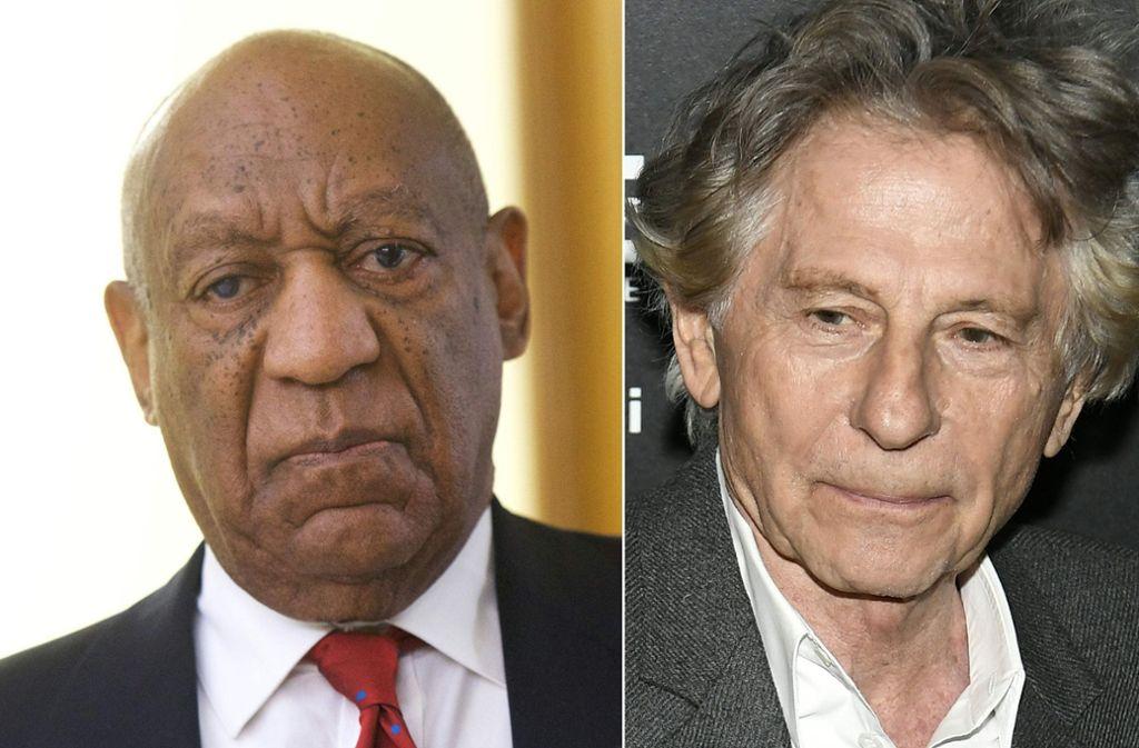 Bill Cosby und Roman Polanski sind aus der Oscar-Academy geflogen – die Filmwelt Hollywoods ächtet sie damit nach langem Zögern klar und deutlich. Foto: AFP