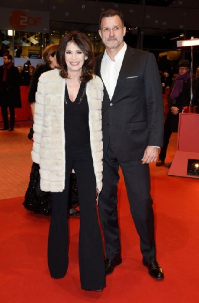 Iris Berben und Heiko Kiesow kommen zur Every Thing Will Be Fine-Premiere Foto: Getty Images Europe