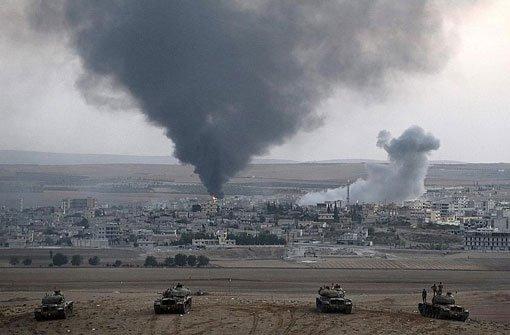 Schlacht um Kobane dauert an