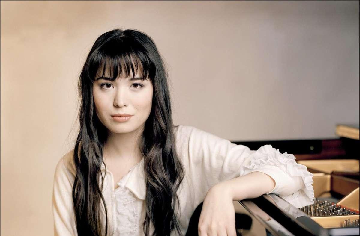 Die Pianistin Alice Sara Ott eröffnet das Online-Festival. Foto: Deutsche Grammophon/Felix Broede