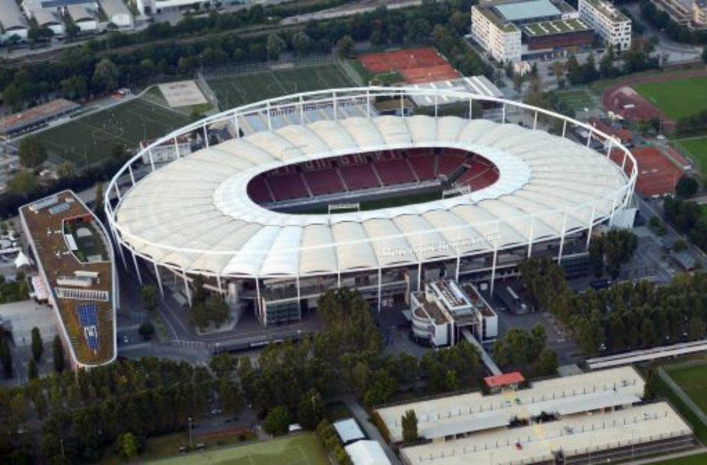 Zu Heimspielen des VfB Stuttgart reisen viele Fans mit der S-Bahn an - bei der Partie gegen Eintracht Frankfurt am 22. September wird das schwieriger. Schuld sind Bauarbeiten fürs Bahnprojekt Stuttgart 21.  Foto: dpa