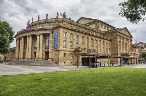 Stuttgarter Staatstheater  bleibt bis Ende April zu