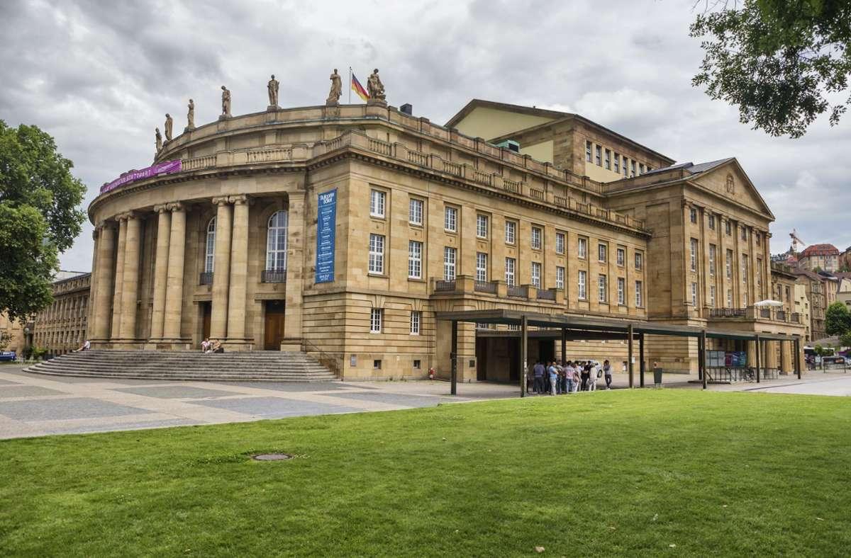 Das Staatstheater Stuttgart darf weiterhin keinen regulären Spielbetrieb anbieten. (Archivbild) Foto: imago images/Ivan Vdovin/Ivan Vdovin via www.imago-images