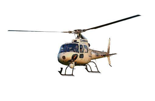 Rettungshelikopter landen bei Oßweil