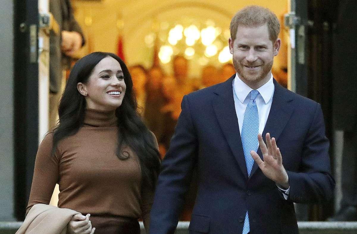 """Prinz Harry wurde von den Lesern des amerikanischen Magazins """"People"""" zum Sexiest Royal 2020 gewählt. (Archivbild) Foto: dpa/Frank Augstein"""