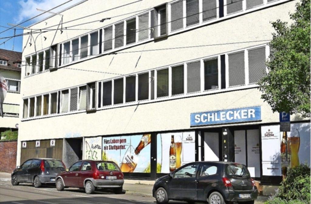 Auf dem Grundstück ist ein Wohnpark  mit Geschäften im Erdgeschoss geplant. Foto: Archiv