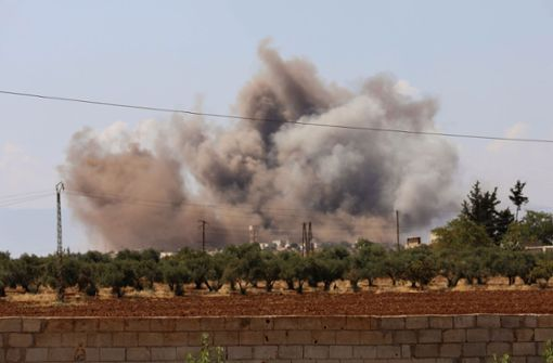 Machthaber Assad startet heftige Angriffe auf Idlib