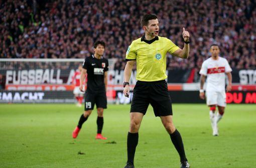 Harm Osmers leitet die VfB-Partie