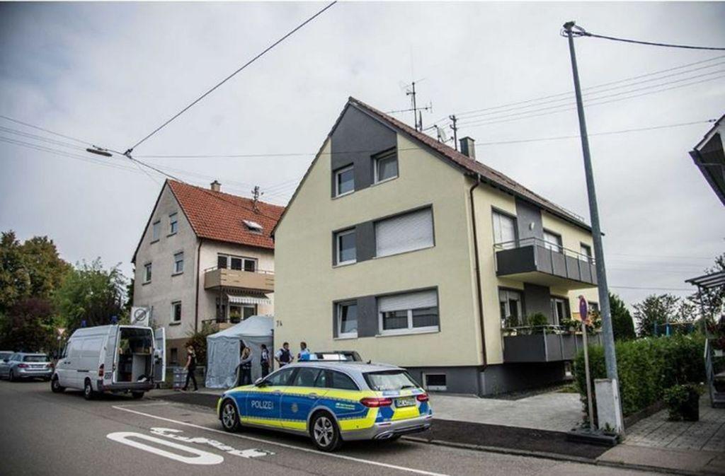 In Neuhausen auf den Fildern- ist eine Frau getötet worden. Foto: SDMG