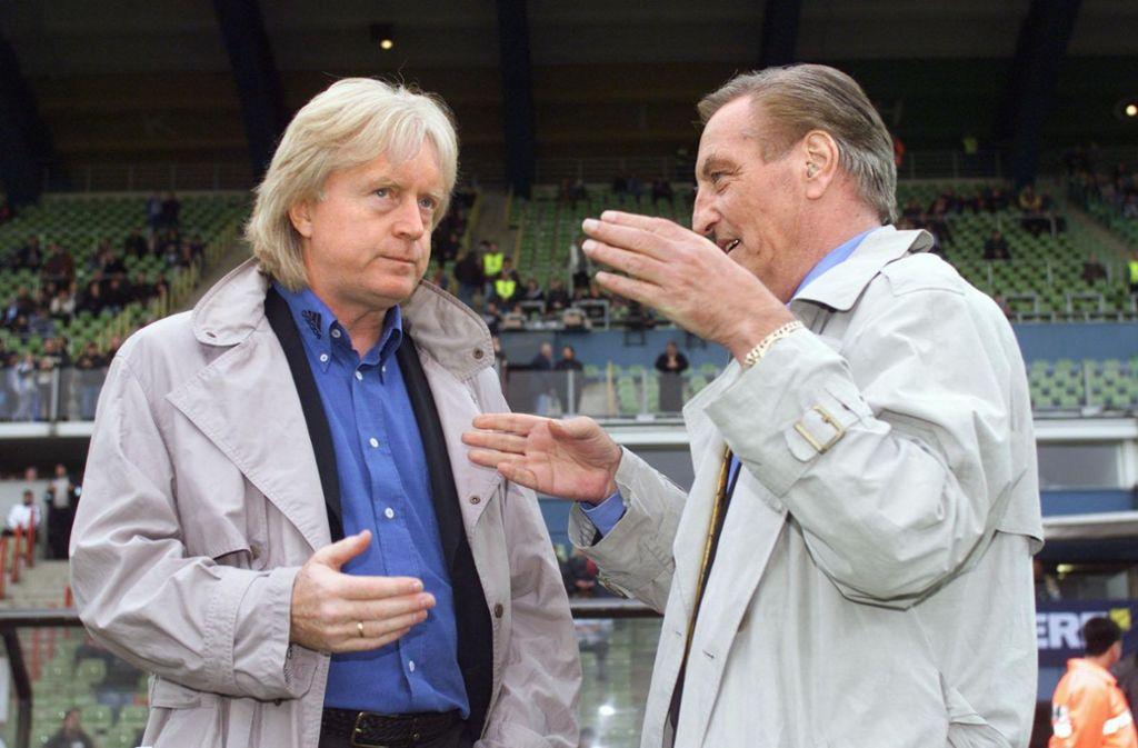 Winfried Schäfer war der Wunschtrainer von VfB-Präsident Gerhard Mayer-Vorfelder.Foto:Pressefoto Baumann Foto: