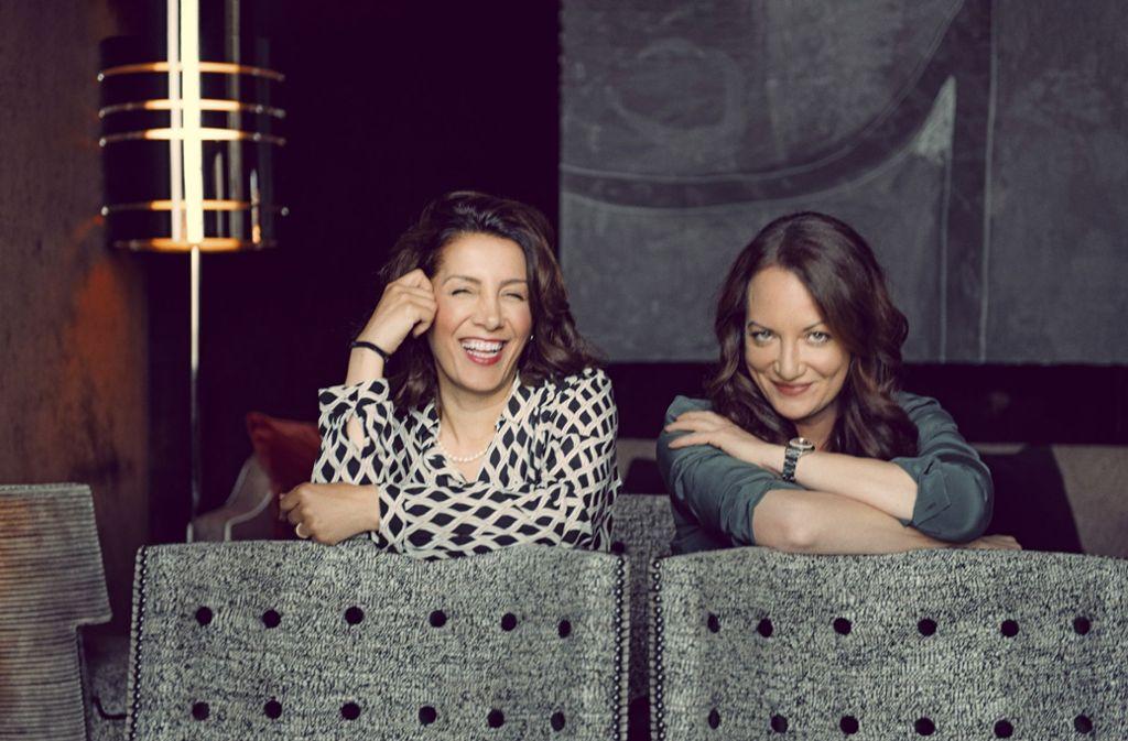 Bilkay Kadem und Natalia Wörner  haben vieles gemeinsam. Foto: StZ Magazin