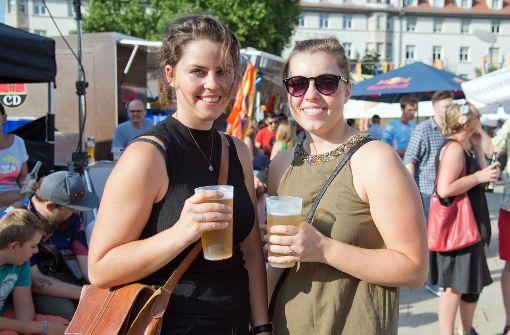 Kühles Bier und Leckereien im Süden