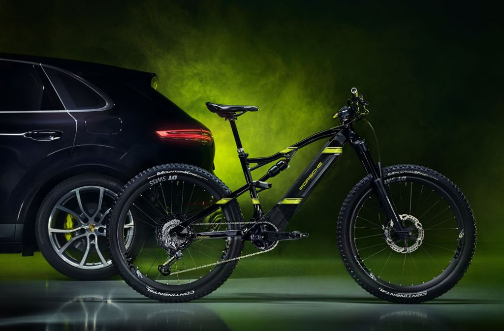 Für unter 10.000  Euro gibt es einen Porsche – allerdings auf zwei Rädern. In unserer Bildergalerie zeigen wir eine Auswahl an Fahrrädern der Autohersteller. Foto: Porsche