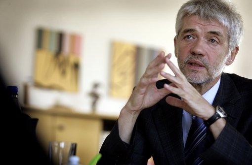 Als Präsident des Landgerichts Stuttgart erstattete Franz Steinle Anzeige gegen einen Rechtsanwalt. Heute ist er Chef des Oberlandesgerichts. Foto: StZ