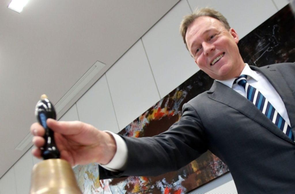 Manch einer in der Union sähe es gerne, dass dem SPD-Fraktionschef Oppermann nun die Stunde schlägt. Foto: dpa