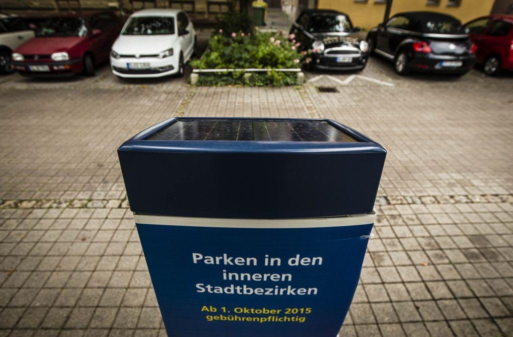 Vom 1. Juni an kann in weiteren Gebieten  in der Stuttgarter Innenstadt nicht mehr kostenlos geparkt werden. Foto: Lichtgut/Leif Piechowski