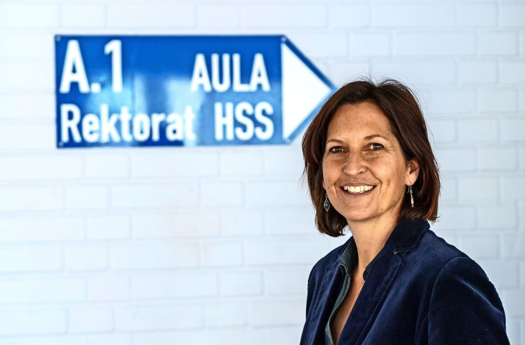 Seit 2011 unterrichtet Sascha Annette Sauter in Weil der Stadt. Foto: factum/Weise