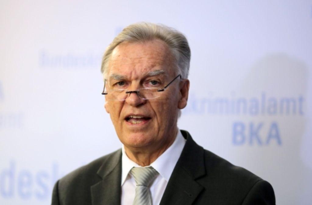 Ist Jörg Ziercke, ehemaliger Präsident des Bundeskriminalamtes, in der Edathy-Affäre die Quelle der Indiskretionen? Foto: dpa