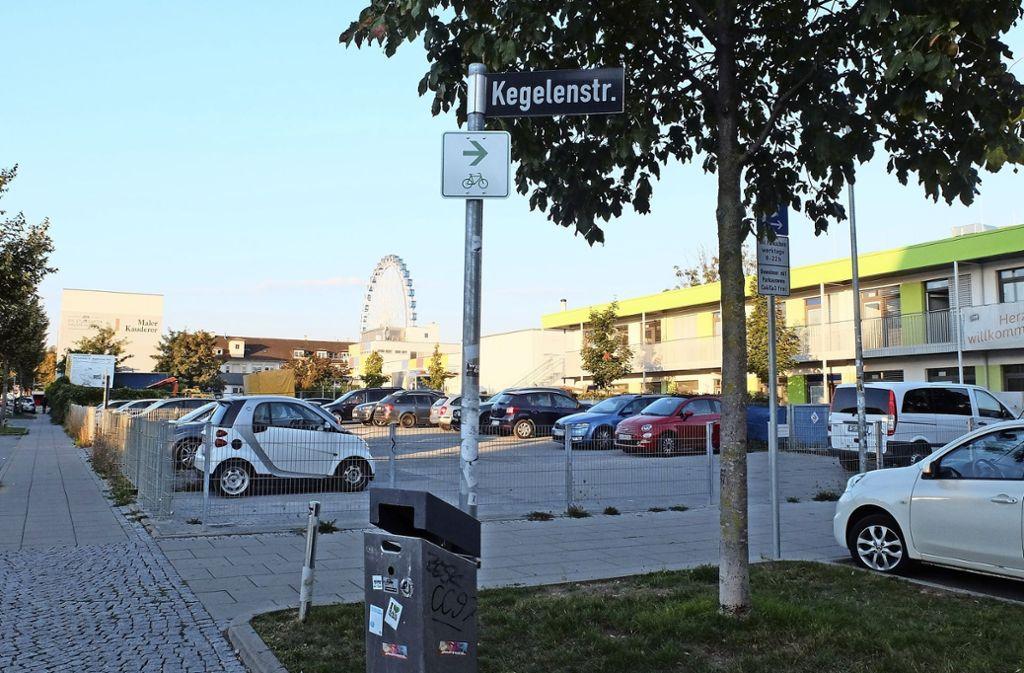 Das Areal in der Elwertstraße steht zur Debatte. Foto: Frey