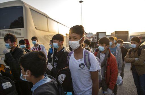 Land nimmt vier Minderjährige aus den griechischen Lagern auf