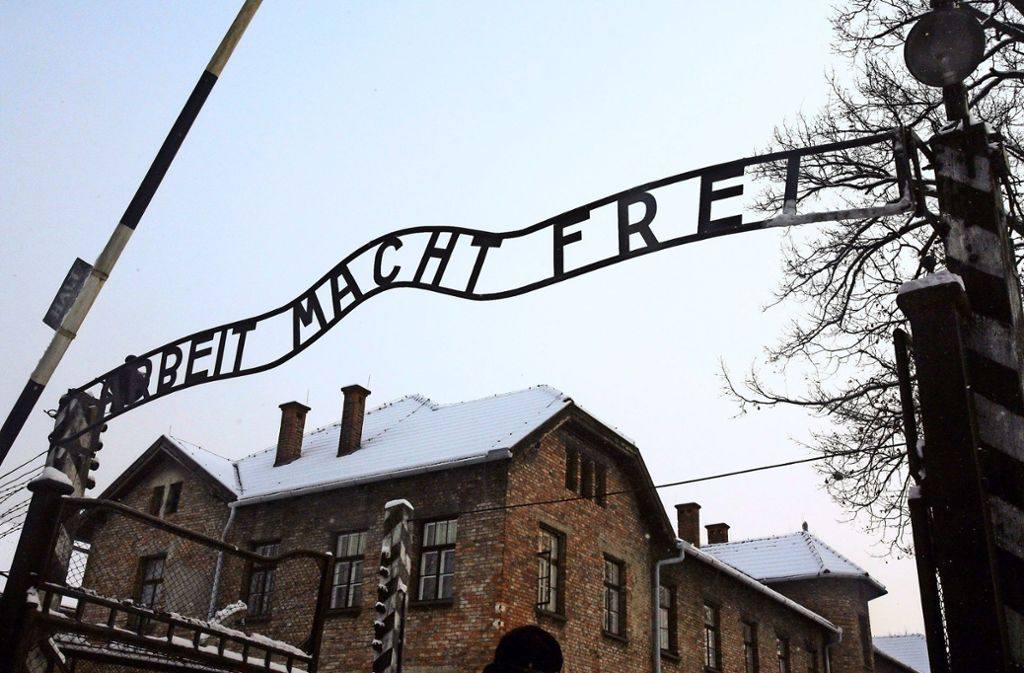 Zynismus im Angesicht des Todes: Das KZ Auschwitz. Foto: