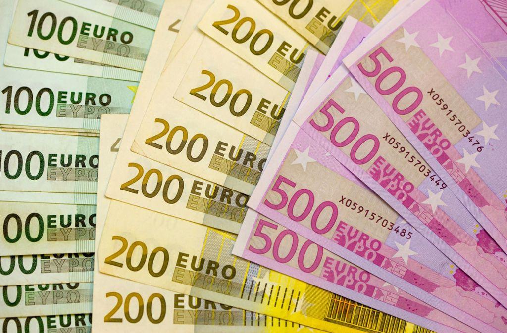 Rund 1,3 Millionen Euro hat der Angeklagte hinterzogen, 400000 Euro hat er bereits beglichen. Foto: dpa-Zentralbild