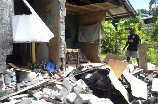 Mehrere Nachbeben erschüttern Salomonen-Inseln