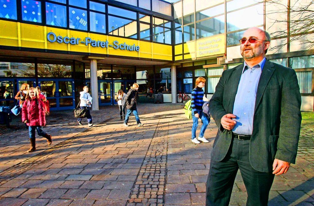 Die Oscar-Paret-Schule in Freiberg soll an anderer Stelle neu gebaut werden. Foto: factum/Weise