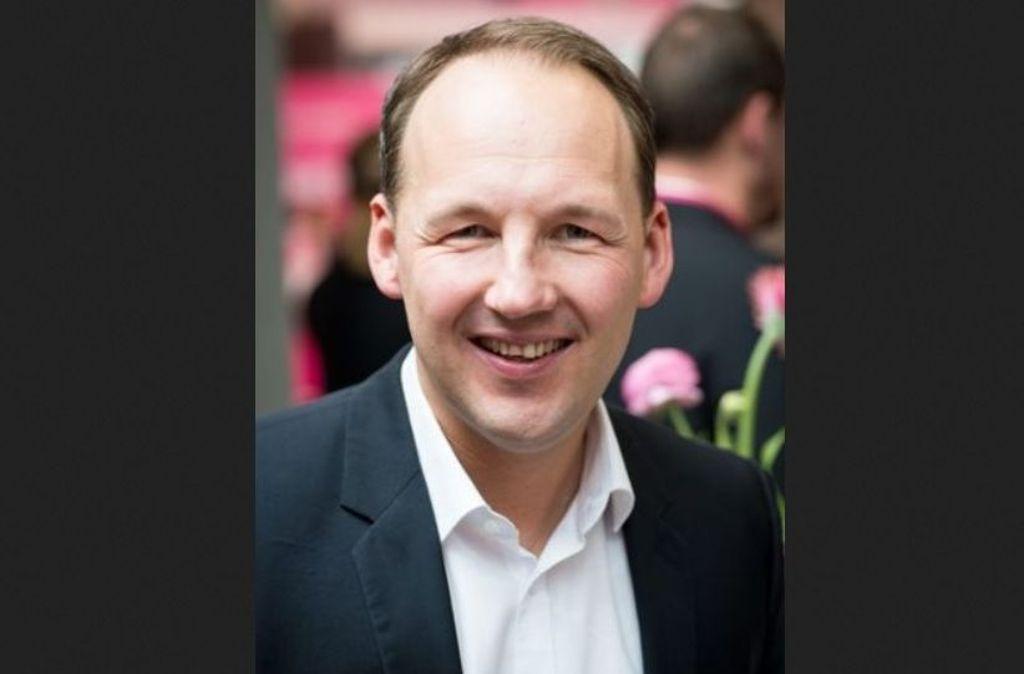 """Marc Biadacz (CDU), direkt gewählter Bundestagsabgeordneter im Wahlkreis Böblingen, Mitglied in den Ausschüssen """"Arbeit und Soziales"""" sowie """"Digitale Agenda  Foto: Telekom"""