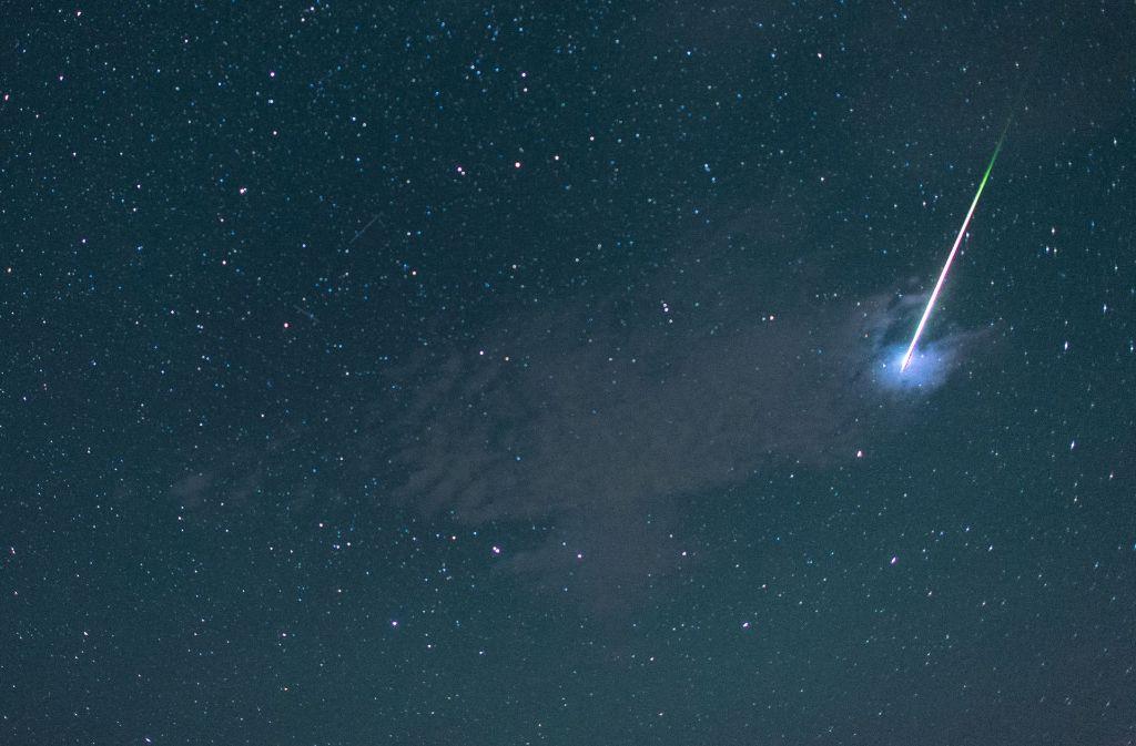 Für viele Sternengucker besonders interessant: Sternenschuppen – ob die Wünsche bei ihrem Anblick in Erfüllung gehen? Foto: dpa