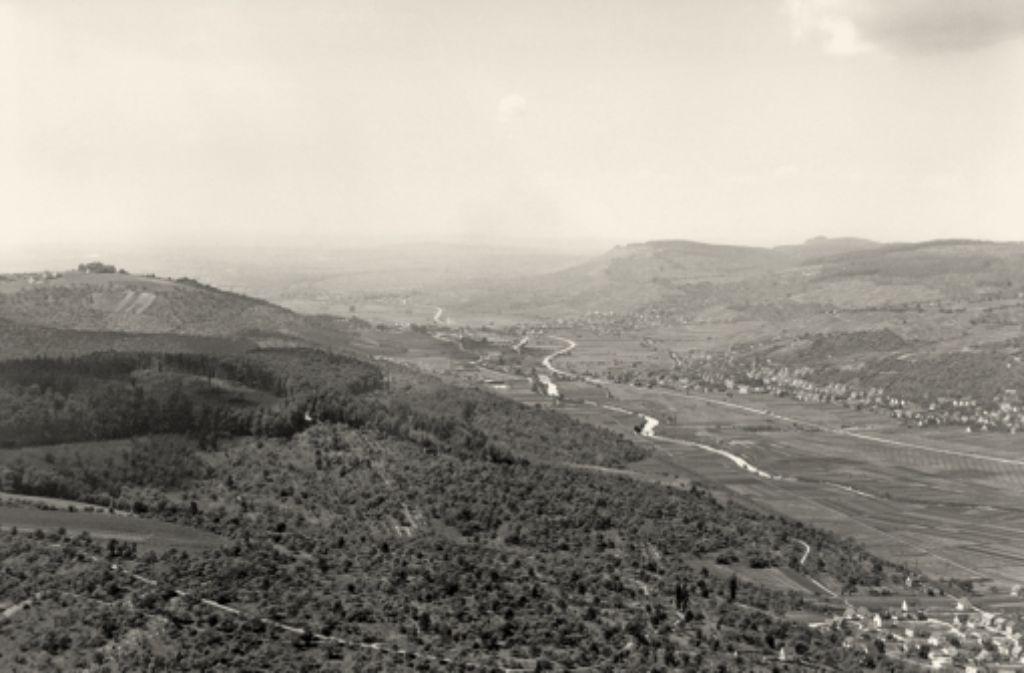 So sah das Remstal im Jahr 1956 aus – heute ... Foto: Brugger