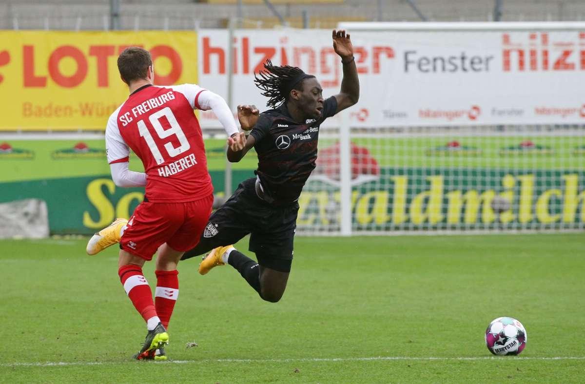 Der VfB Stuttgart hat beim SC Freiburg mit 1:2 verloren. Wir haben die Leistungen der VfB-Akteure wie folgt bewertet. Foto: Pressefoto Baumann/Hansjürgen Britsch
