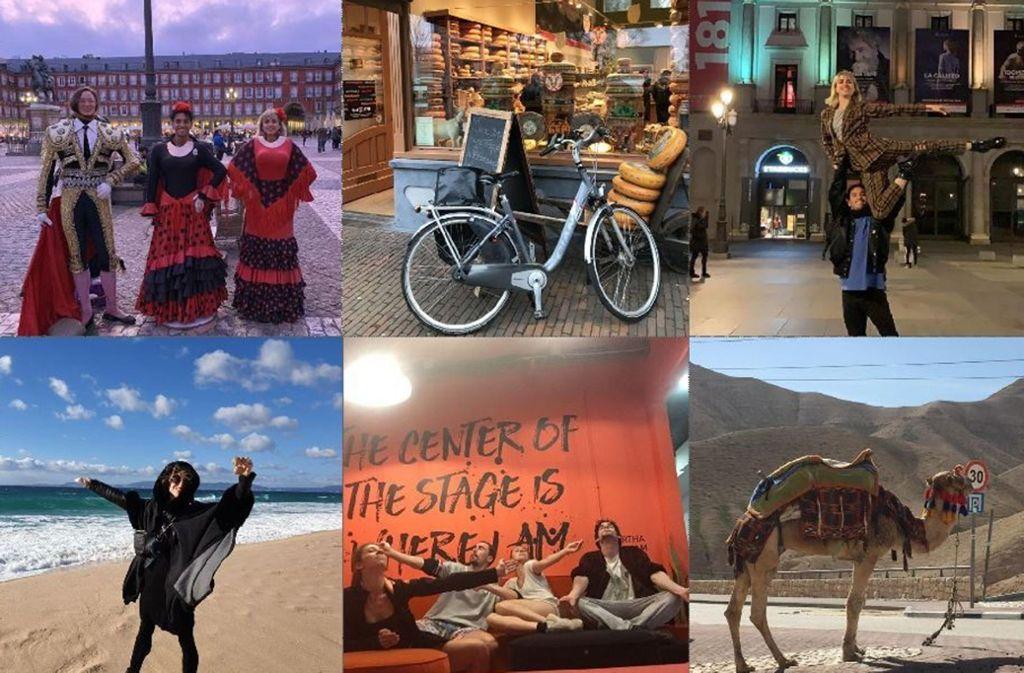 """Madrid, Rotterdam, Tel Aviv: Impressionen von den vielen Orten, an denen Eric Gauthiers Tänzer für """"Deuces"""" geprobt haben, versammelt unsere Bildergalerie. Foto: Gauthier Dance"""