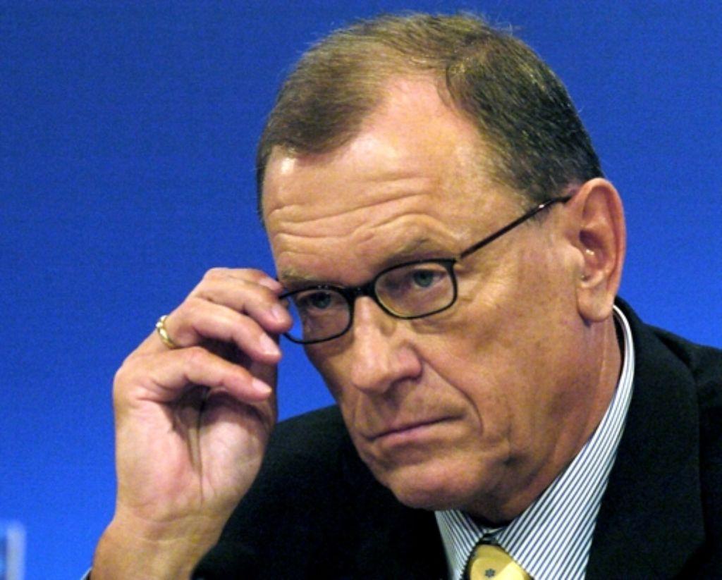 Der Abgang von Ex-Daimler-Chef Schrempp 2005 beschäftigt weiter die Gerichte. Foto: dpa