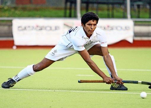 Ein Inder trainiert beim HTC