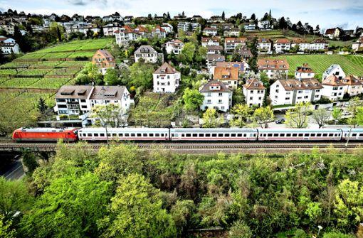So soll der Anschluss an Stuttgart erhalten bleiben