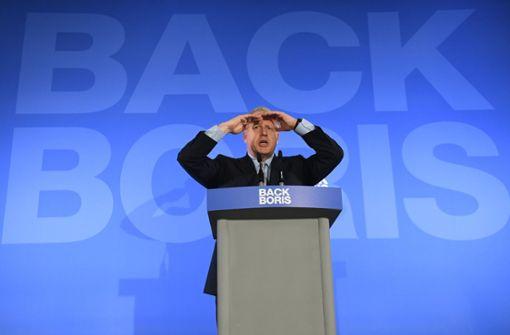 Die Chancen für Boris Johnson stehen gut