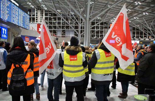 Fast die Hälfte der Flüge in Stuttgart abgesagt