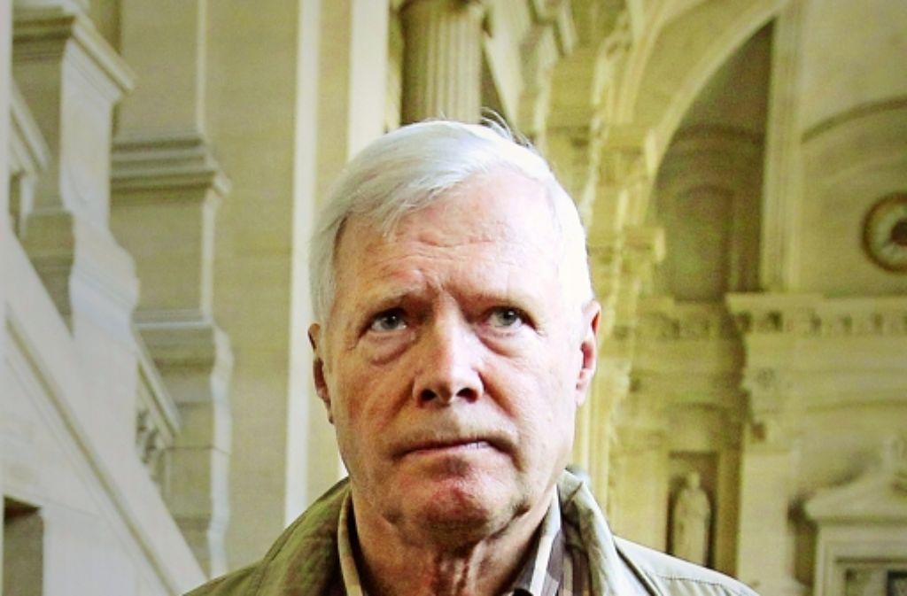 Aus dem Nebenkläger ist ein Angeklagtergeworden: André Bamberski bei einemfrüheren Gerichtstermin. Foto: AFP