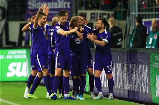 Aue gewinnt packendes Verfolgerduell in der 2. Bundesliga