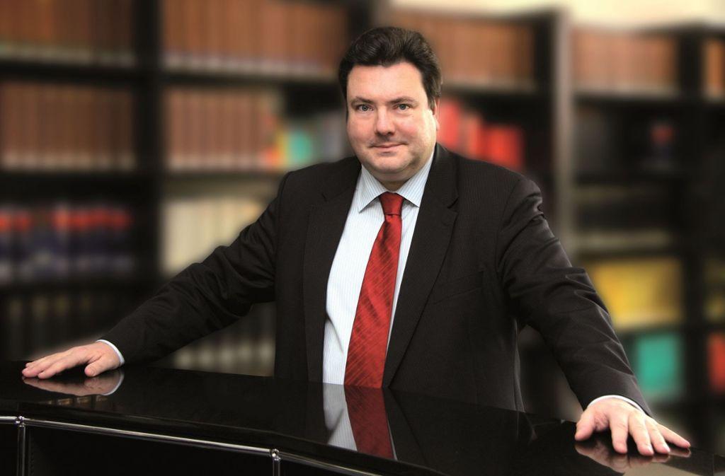 Der Rechtsanwalt Andreas Tilp vertritt Hunderte Aktionäre, die gegen VW klagen Foto: Tilp