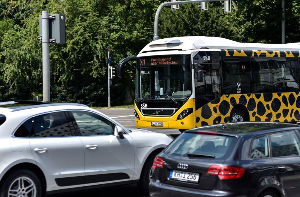 Der X1 pendelt seit Oktober 2018 zwischen dem Cannstatter Wilhelmsplatz und der Innenstadt. Foto: Lichtgut/Max Kovalenko