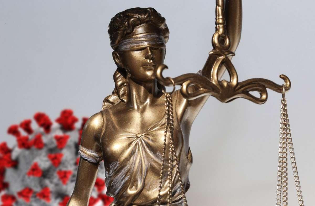 Vor dem Bundesverfassungsgericht sind Klagen gegen die Bundes-Notbremse eingegangen. Foto: imago images/U. J. Alexander