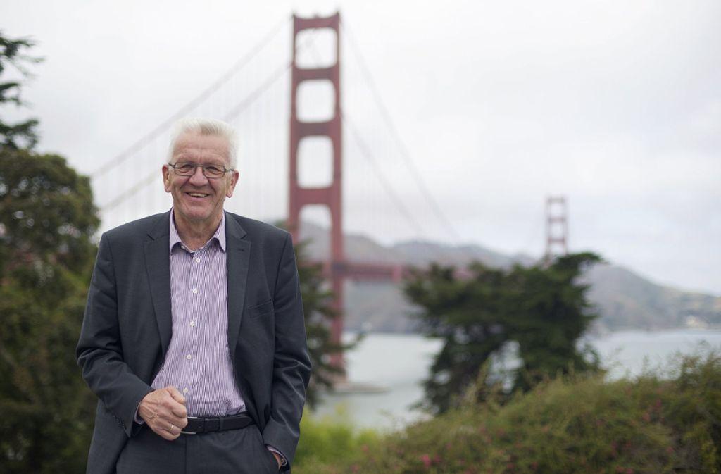 Zuletzt war Kretschmann im Mai 2015 in Kalifornien. Auf seiner zweiten Reise dorthin soll unter anderem ein Partnerschaftsabkommen zwischen Baden-Württemberg und dem US-Bundesstaat geschlossen werden. Foto: dpa