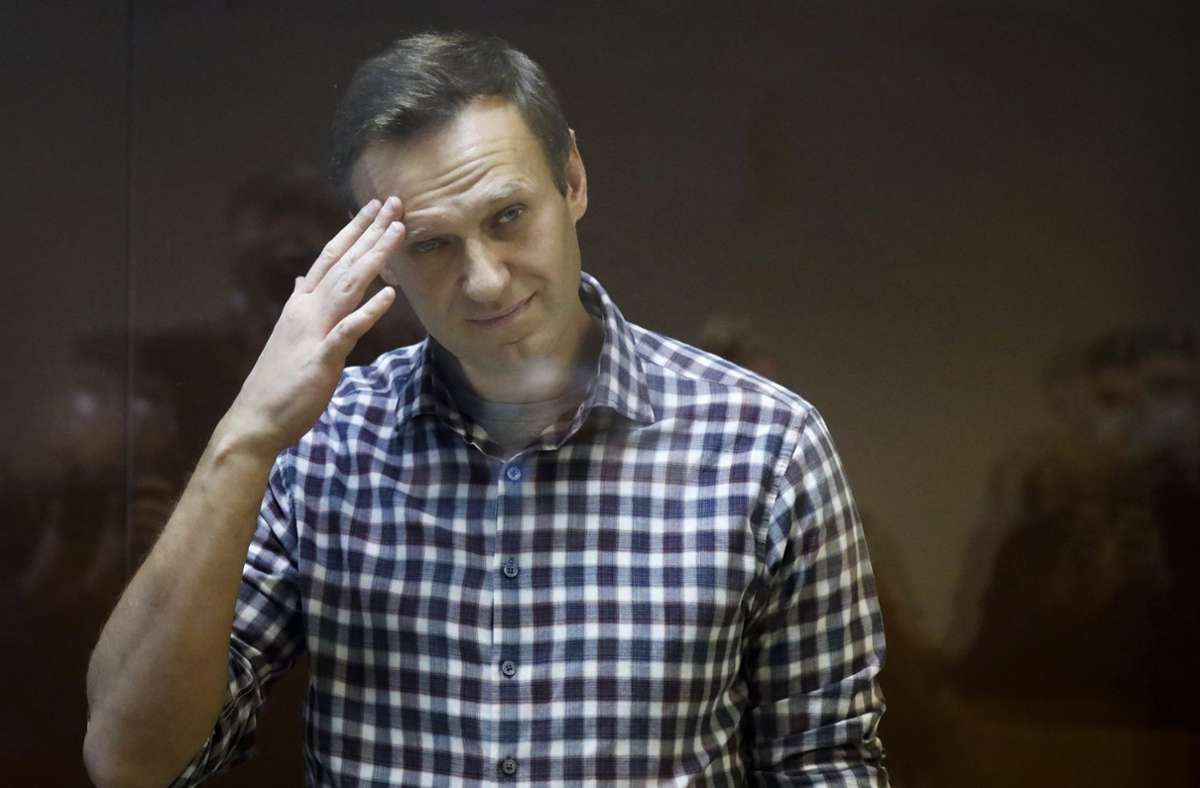 Der Oppositionspolitiker Nawalny war Anfang Februar in Moskau zu Lagerhaft verurteilt worden. Foto: dpa/Alexander Zemlianichenko