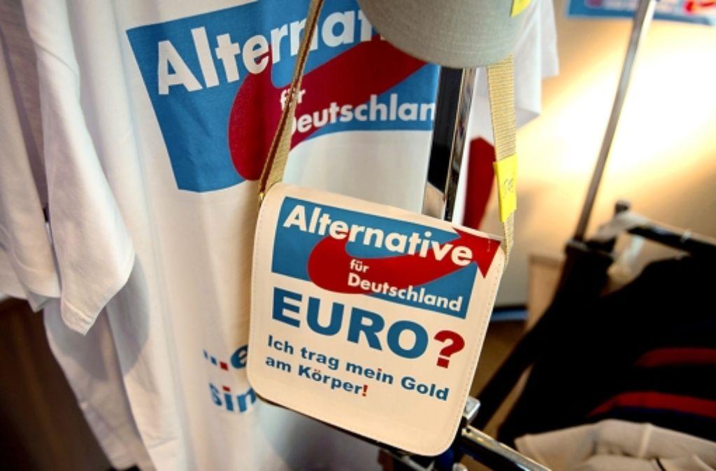 Die AfD sieht den Euro kritisch Foto: dpa
